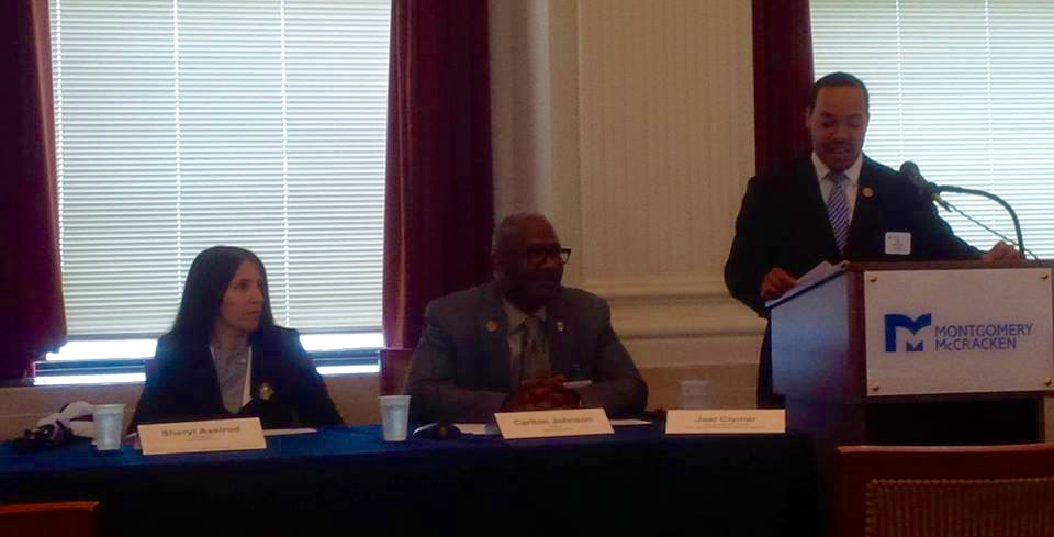 Attorney Axelrod at last month's TLAA Diversity Panel