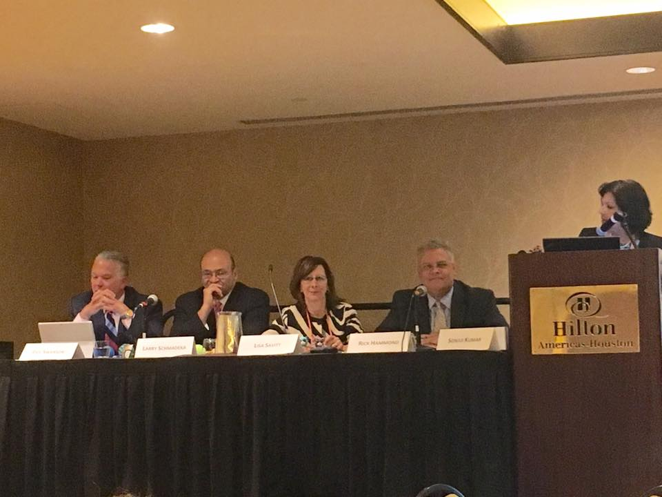 Partner Lisa J. Savitt serving as a panelist on the International Law Practice Area Committee (PAC) Panel