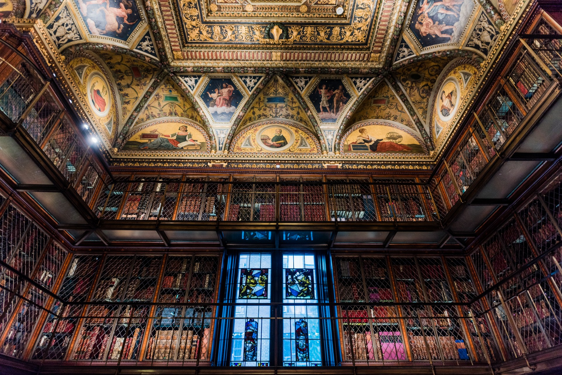 One of the reception locations for the ABA Section of International Law Spring 2016 Meeting, The Morgan Library and Museum was the private library of financier Pierpont Morgan. The library's impressive collection includes three copies of the Gutenberg Bible.